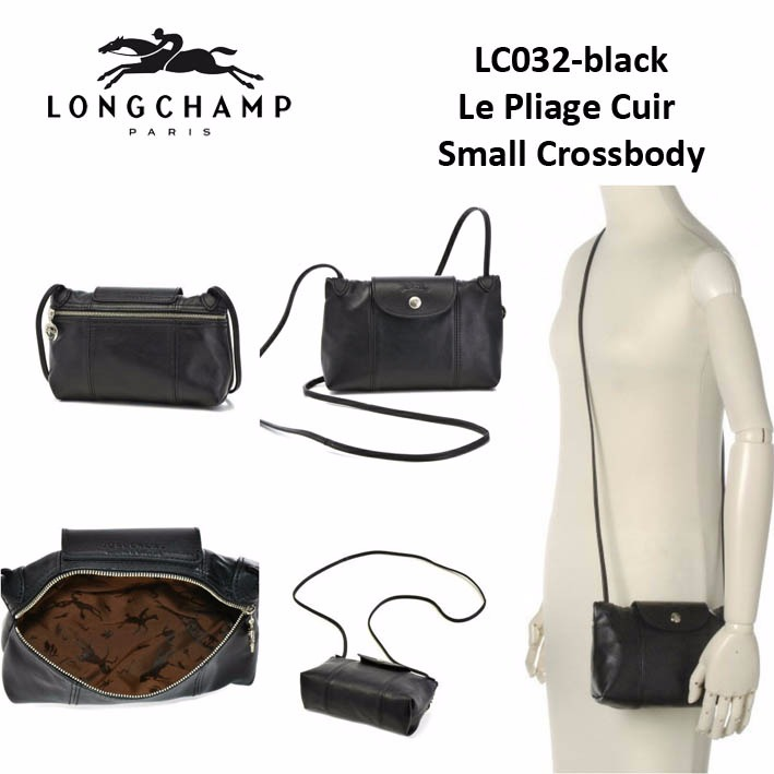 Lc032 Longchamp Le Pliage Cuir Small Crossbody Bag Sisbrow Firsthand Original Branded Bags With Lowest Price Ever