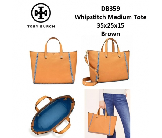 0d1582ff830 DB359 Tory Burch Whipstitch Medium Tote - SISBROW - Firsthand ...