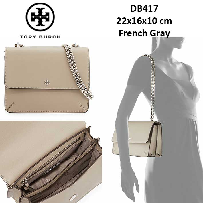 9eaf7cfcb95 DB417 Tory Burch Robinson Convertible Shoulder Bag - SISBROW - Firsthand  Original Branded Bags with Lowest Price Ever!!