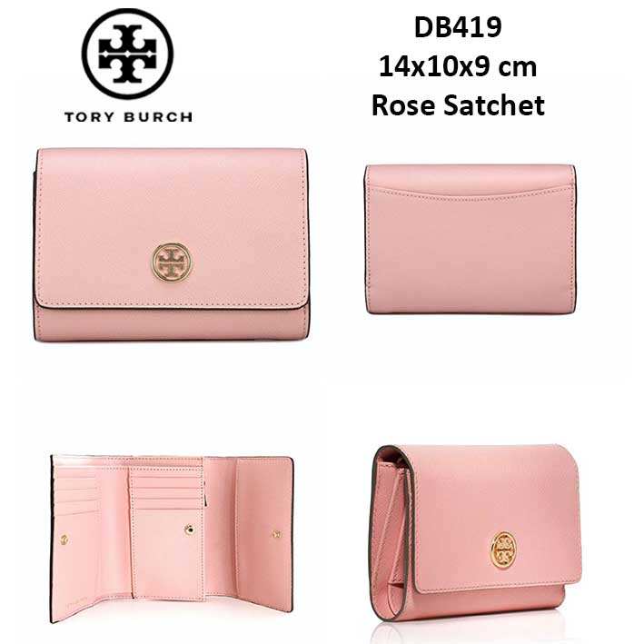 ce951a50bf13 DB419 Tory Burch Robinson Medium Flap Wallet - SISBROW - Firsthand Original  Branded Bags with Lowest Price Ever!!