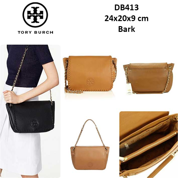 fc750e993da1 DB413 Tory Burch Marion Small Leather Flap - SISBROW - Firsthand Original  Branded Bags with Lowest Price Ever!!