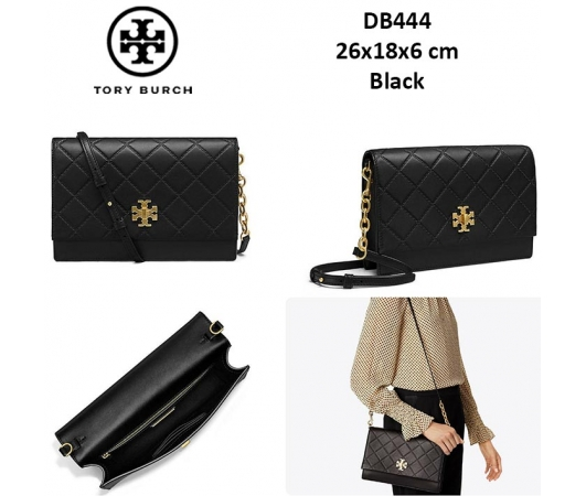 31c9318d30a DB444 Tory Burch Georgia Quilted Shoulder bag - SISBROW - Firsthand ...