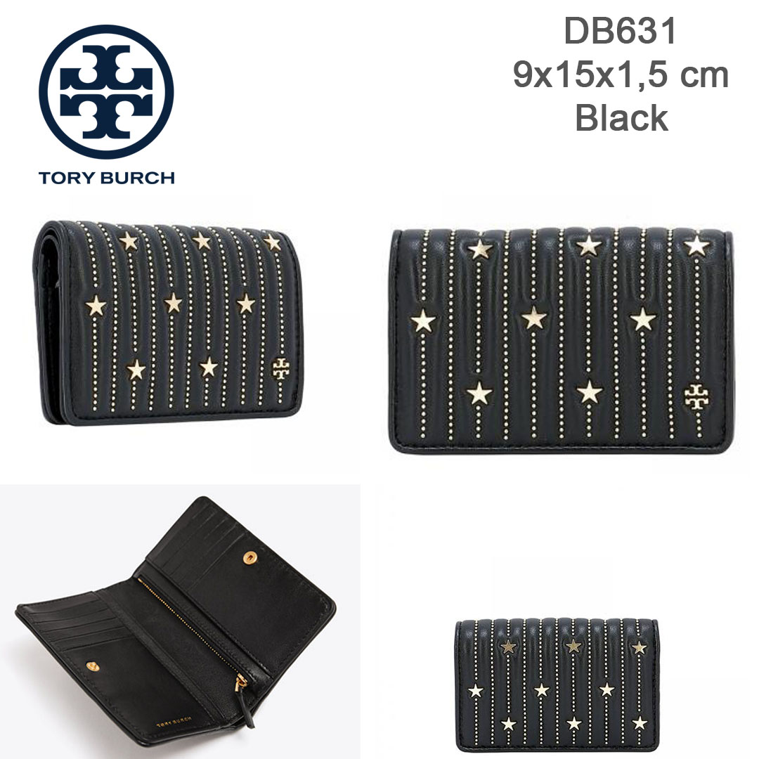 8ec40b77950 DB631 Tory Burch Fleming Star Stud Slim Medium Wallet - SISBROW - Firsthand  Original Branded Bags with Lowest Price Ever!!